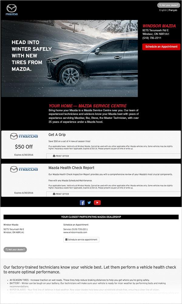 Dealership email marketing