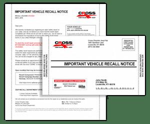 automotive recall administration
