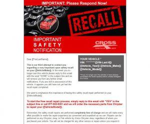 recall management program